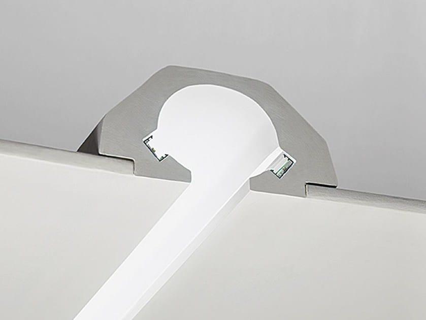 Gypsum Linear lighting profile P3 by NOBILE ITALIA