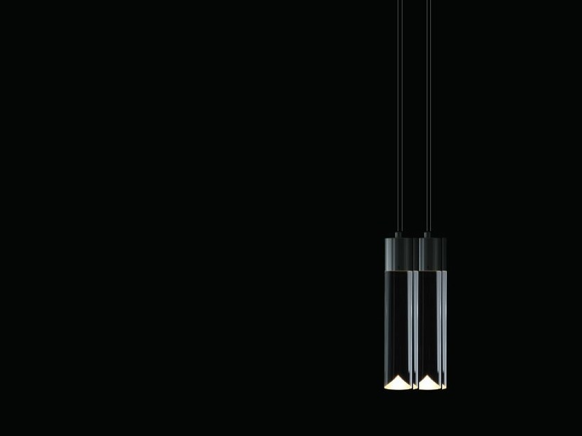 LED pendant lamp with dimmer P4 by Archilume