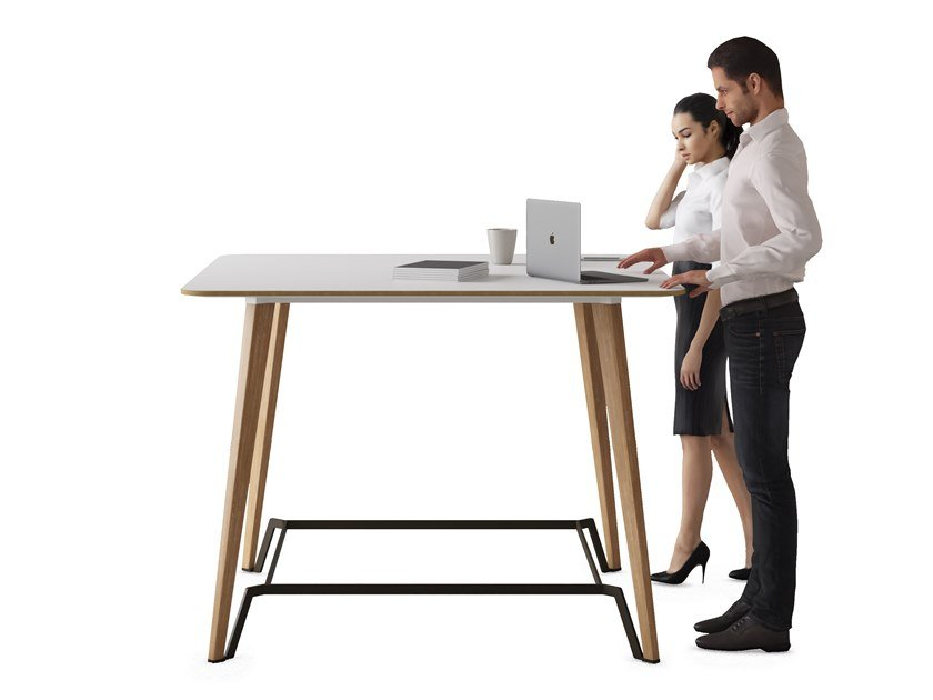 Rectangular high table P45 | High table by ESTEL GROUP
