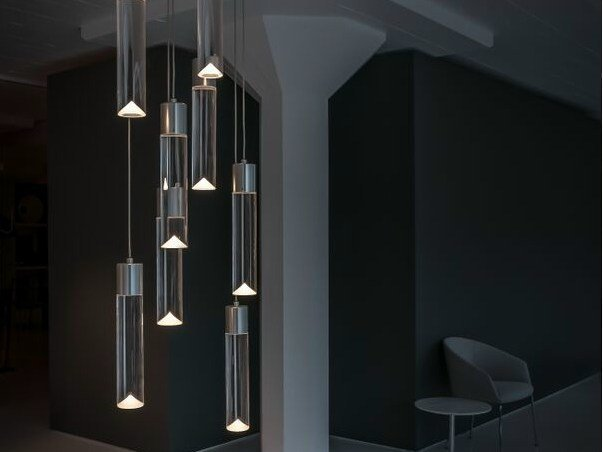 LED pendant lamp with dimmer P8A by Archilume