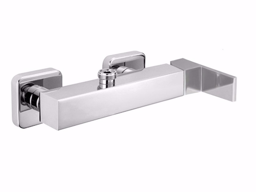 2 hole single handle shower mixer PABLOLUX - F9808S by Rubinetteria Giulini