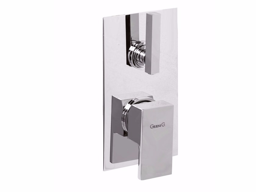 Single handle shower mixer with diverter PABLOLUX - F9813-3 by Rubinetteria Giulini