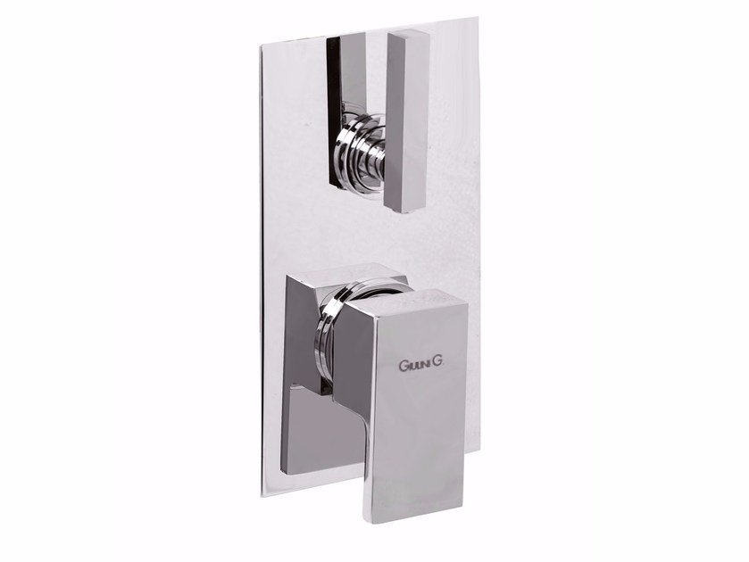 Single handle shower mixer with diverter PABLOLUX - F9813-4 by Rubinetteria Giulini