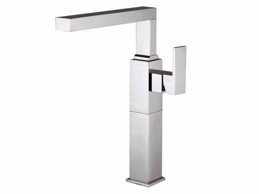 Countertop single handle 1 hole washbasin mixer PABLOLUX - F9828A-B2 by Rubinetteria Giulini