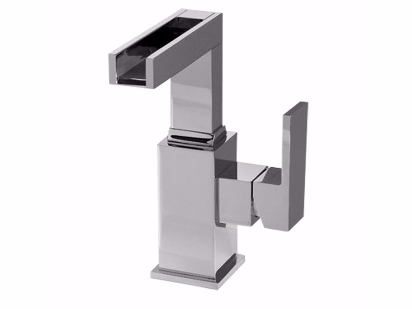 Countertop single handle bidet mixer PABLOLUX - F9829A-B1 by Rubinetteria Giulini