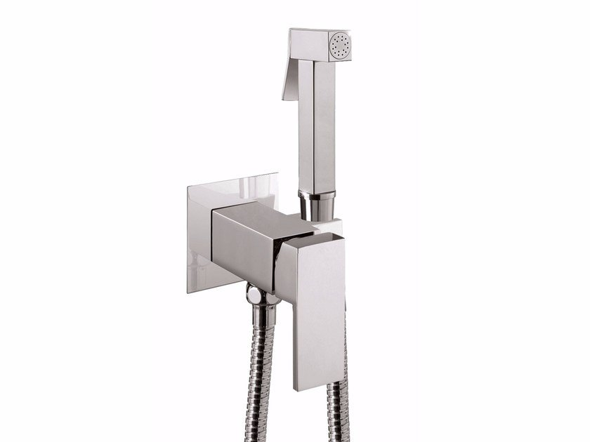 Toilet-jet handspray with mixer tap PABLOLUX - FSH20P by Rubinetteria Giulini