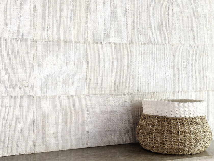 Fireproof nonwoven wall tiles PACHIRA by Élitis