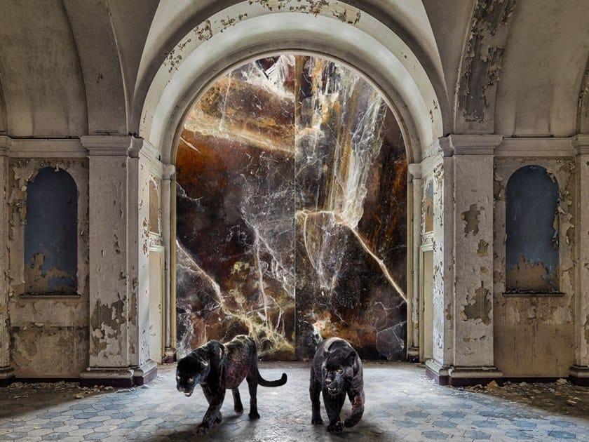 Resin Decorative panel PACIFIC SKY by Tecnografica Italian Wallcoverings