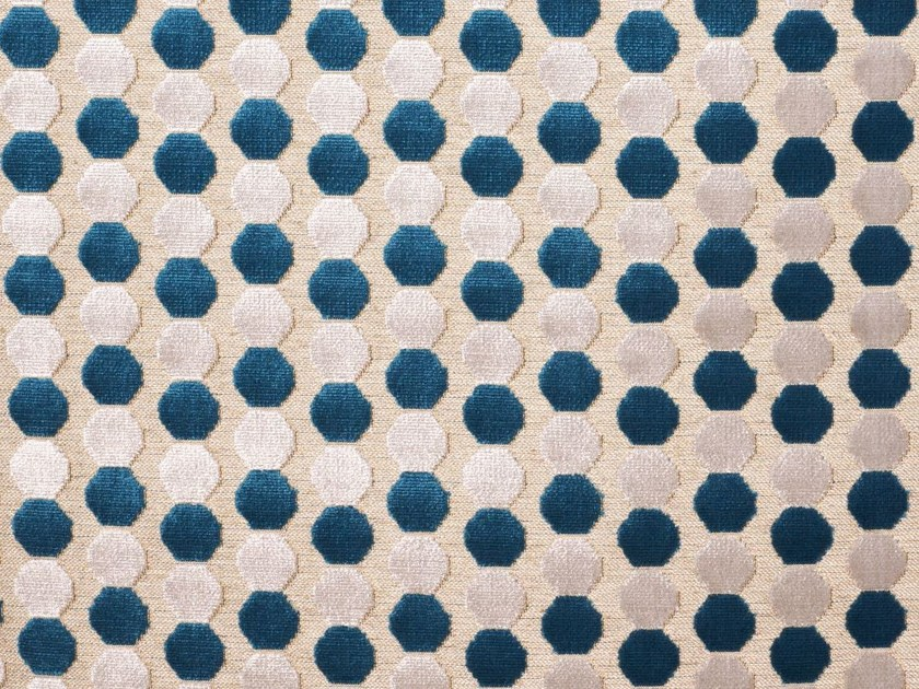 Dotted viscose upholstery fabric PADDINGTON by Gancedo