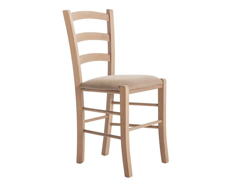 Beech chair PAESANA 485.i1 by Palma