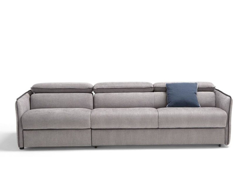 Upholstered fabric sofa bed PAGANINI | Sofa bed by Dienne Salotti