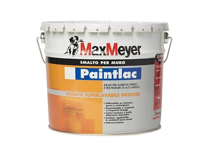 Colori Per Esterni Max Meyer : Smalto murale all acqua a finitura opaca paintlac opaco maxmeyer