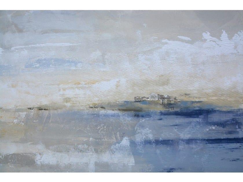 Canvas Painting Paisaje Atenas by NOVOCUADRO ART COMPANY