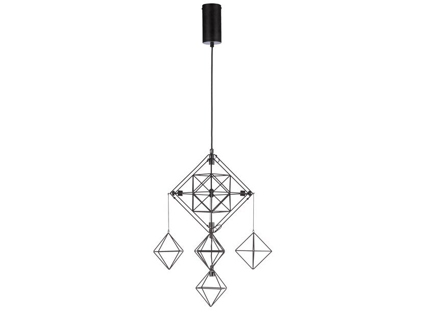 LED metal pendant lamp PAJAK by Forestier
