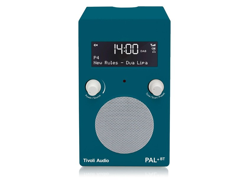 Radio PAL+ BT - DEEP OCEAN TEAL by Tivoli Audio