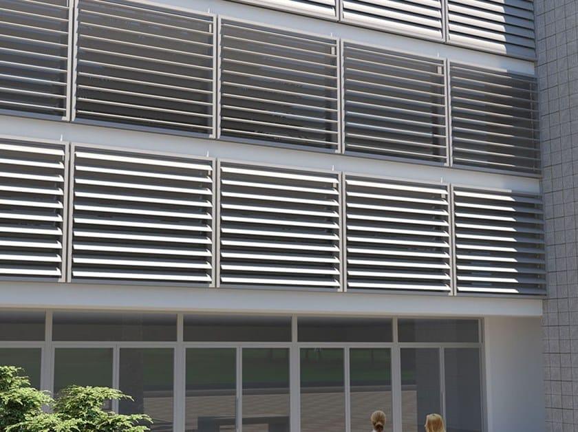 Frangisole orientabile o fisso in alluminio PALA by MV Living