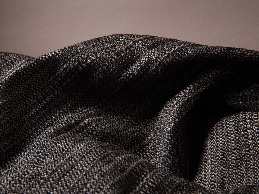Solid-color tweed fabric PALISSE by LELIEVRE