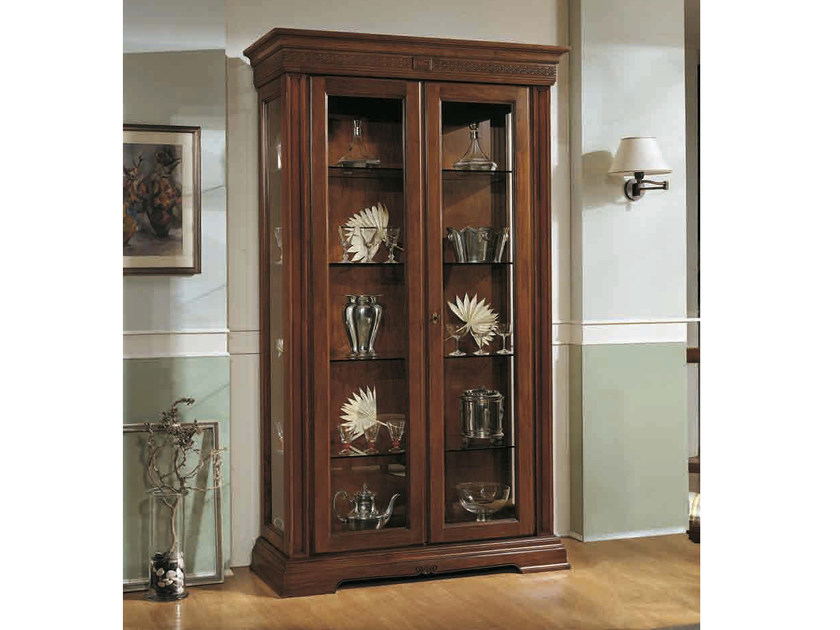 Solid wood display cabinet PALLADIO | Display cabinet by Arvestyle