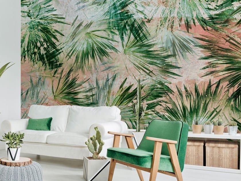 Fire retardant Digital printing wallpaper PALM BEACH by NANNI GIANCARLO & C.