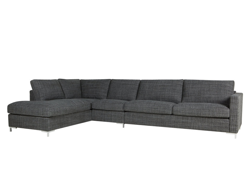 Upholstered 3 seater fabric sofa PALMA | 3 seater sofa by SITS