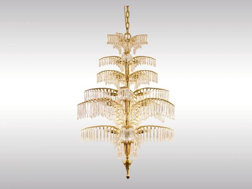 Classic style chandelier PALME-DUBAI by Woka Lamps Vienna