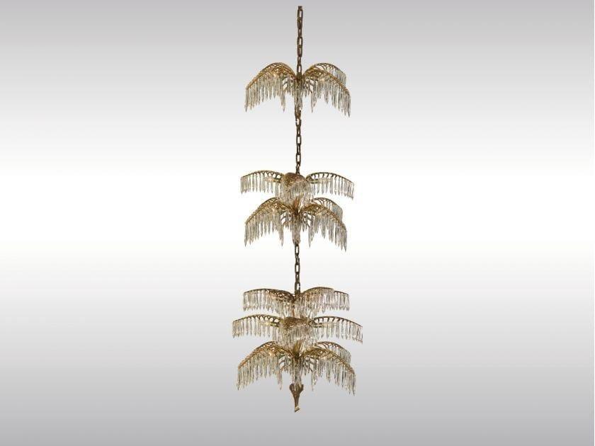 Classic style chandelier PALME SHANGHAI by Woka Lamps Vienna
