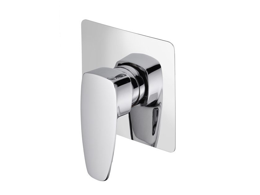 Recessed shower mixer PAN II | Recessed shower mixer by JUSTIME