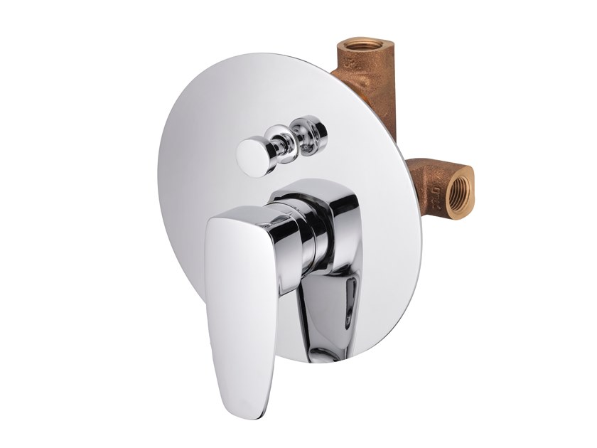 Recessed shower mixer with diverter PAN II | Single handle shower mixer by JUSTIME