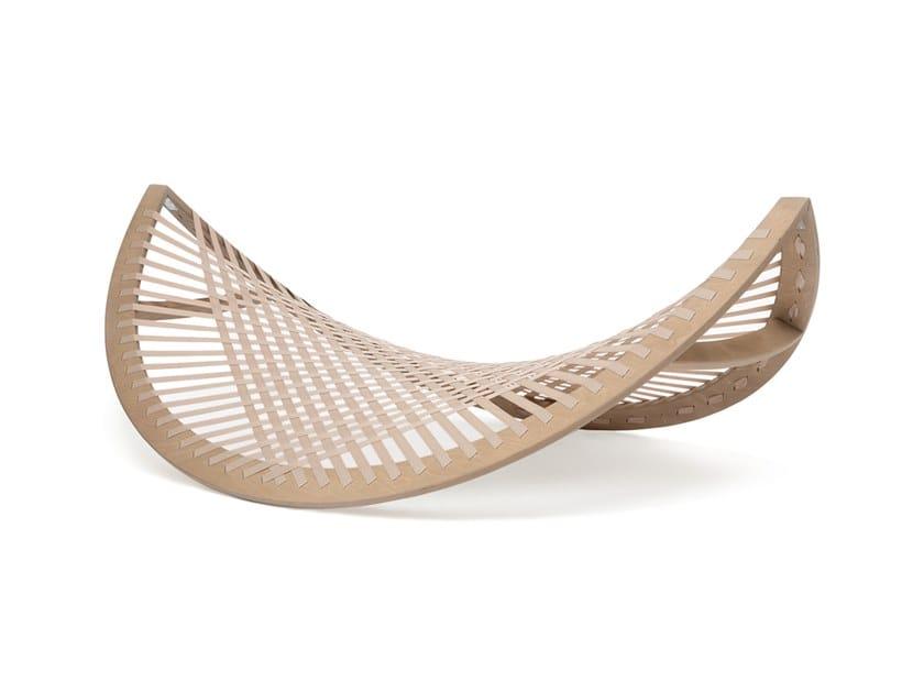 Wooden hammock PANAMA BANANA BEIGE by Aggy