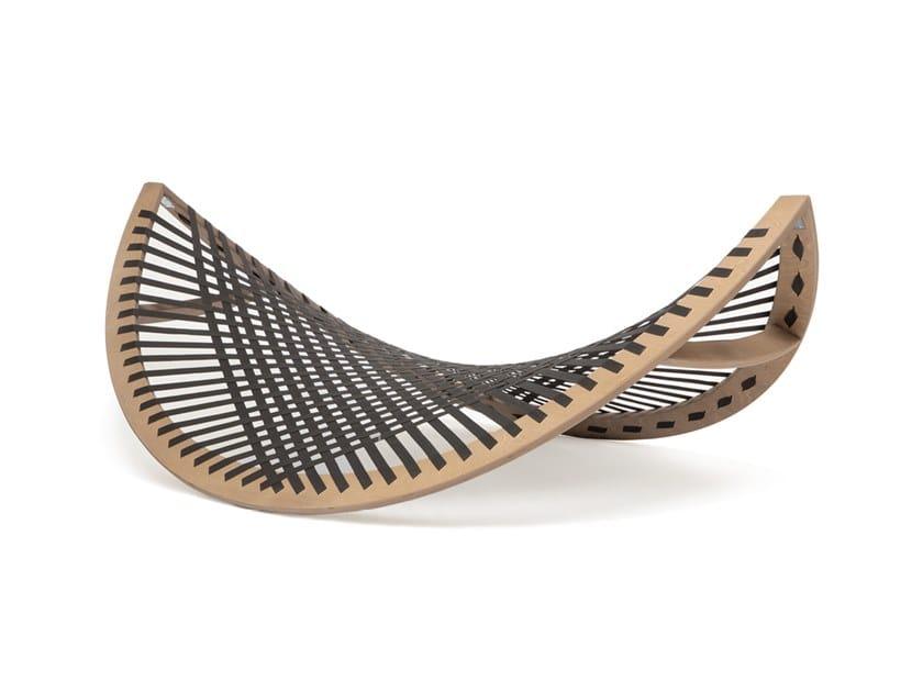 Wooden hammock PANAMA BANANA OLIVE by Aggy