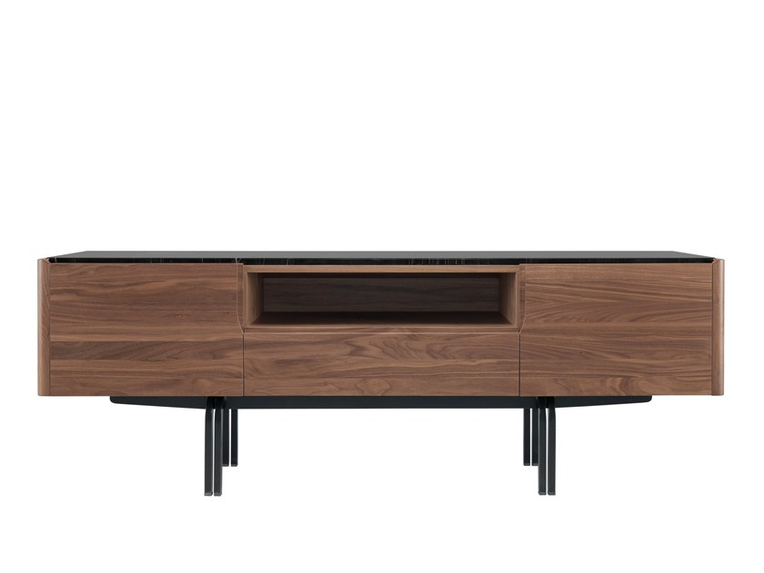 PanamÁMobile In Legno Tv E Marmo Wewood Nero b7Yyvf6g