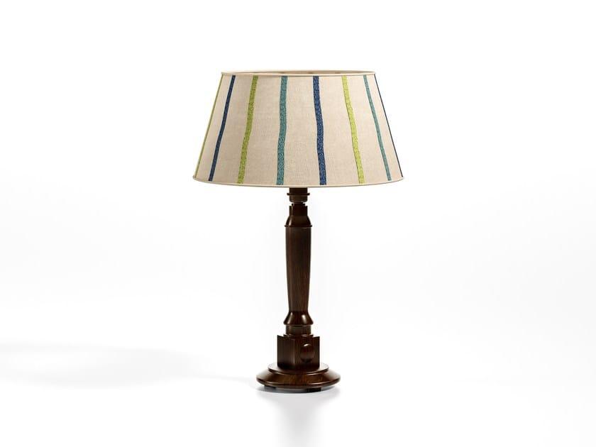 Direct light fabric table lamp PANAREA | Table lamp by Caroti