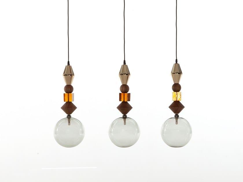 Pendant lamp PANDORA LIGHT by Tonin Casa