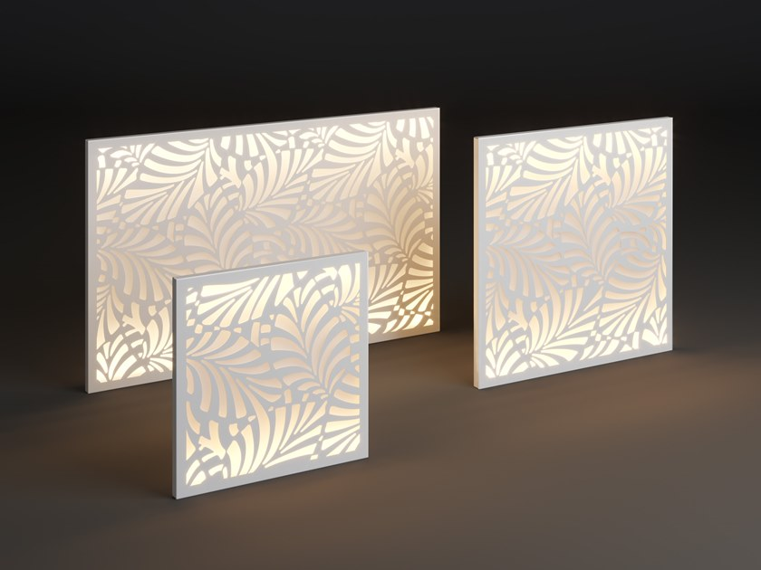 LED metal wall lamp PANEL LIF by Laubo