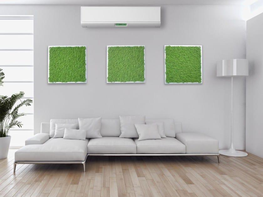 Vegetal frame Pannelli decorativi in lichene by STUDIO T