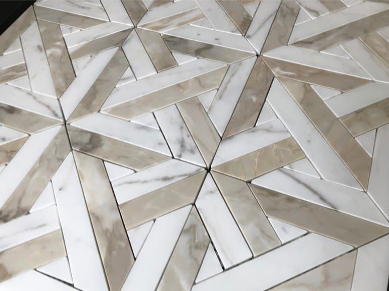 Marble flooring PANNELLO 12 by Lithos Mosaico Italia