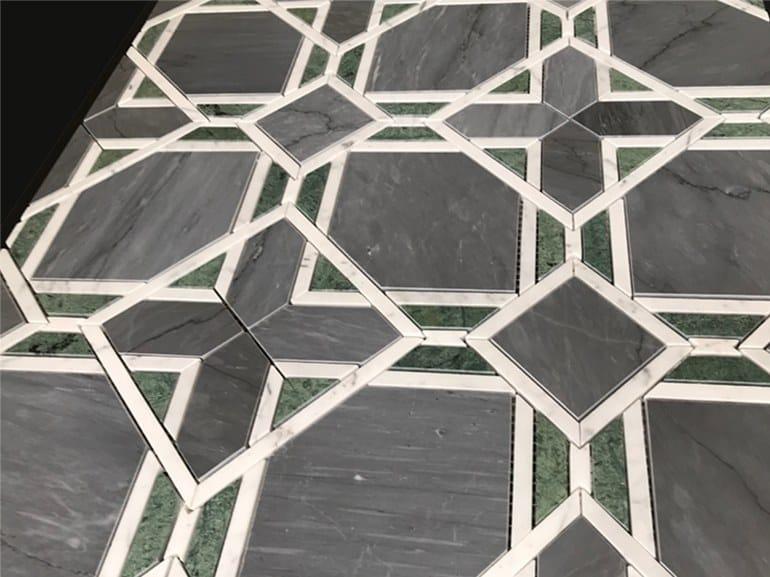 Marble flooring PANNELLO 13 by Lithos Mosaico Italia