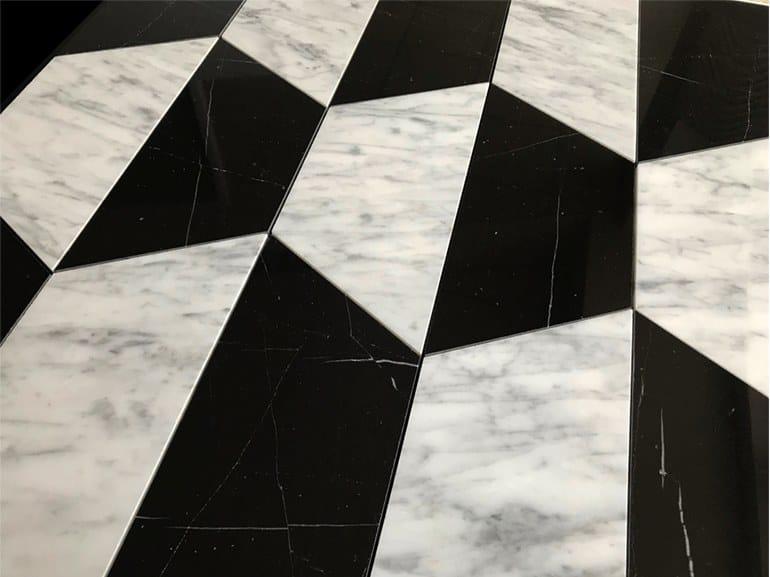 Marble flooring PANNELLO 4 by Lithos Mosaico Italia