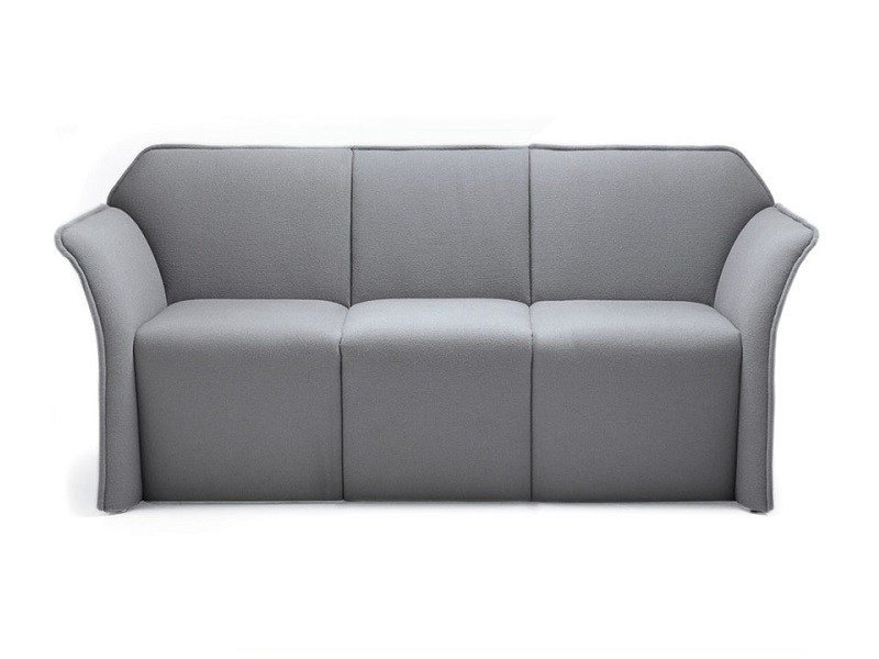 3 seater fabric sofa PANOPLY | 3 seater sofa by Emmegi