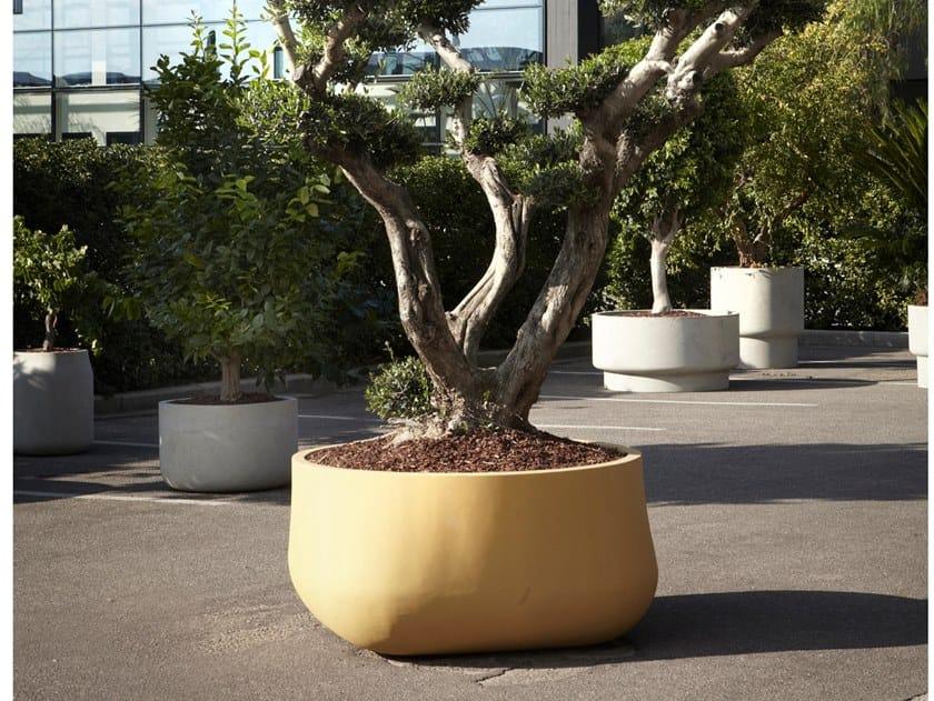 Vaso da giardino in cemento PANTAGRUEL by Antonio Lupi Design