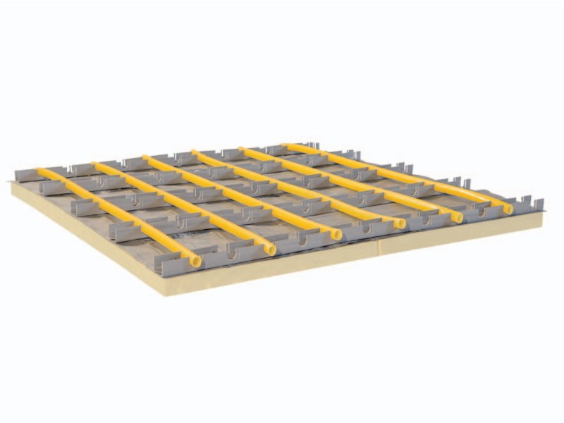 Radiant floor panel PANTHE INDUSTRIA by PANTHERM