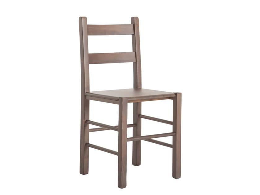 Pine chair PAOLINA 433.m1 by Palma