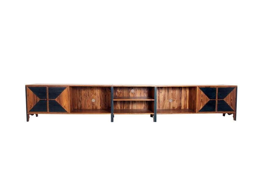 Teak TV cabinet PAPAHO by ALANKARAM