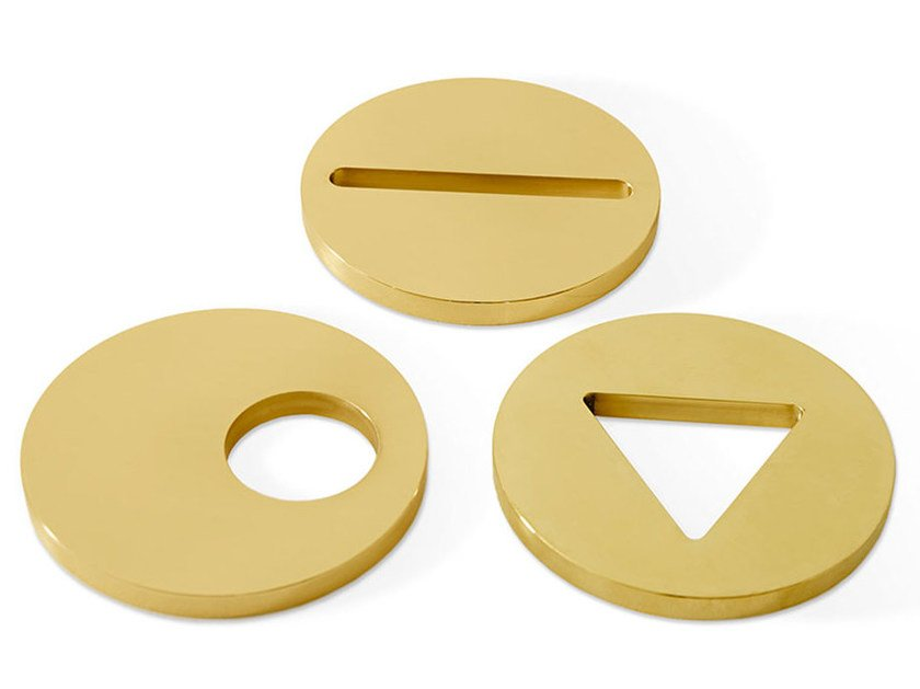 Brass paperweight PAPERWEIGHT by Gallotti&Radice