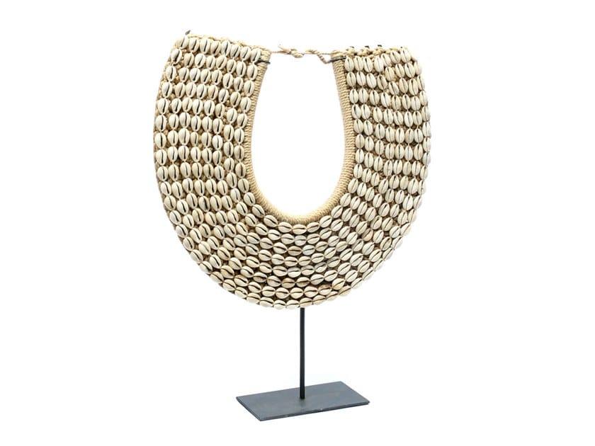 Contemporary style metal decorative object PAPUA NECKLACE by Bazar Bizar