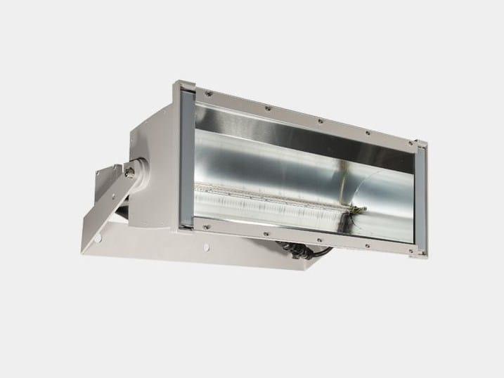 Aluminium Outdoor floodlight PARABEL by ES-SYSTEM
