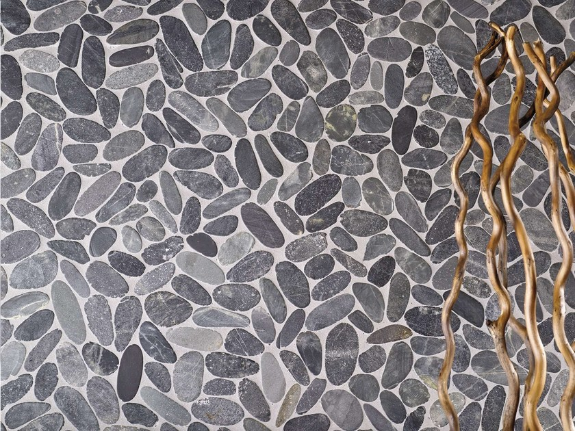Natural stone mosaic PARADISE by L'ANTIC COLONIAL