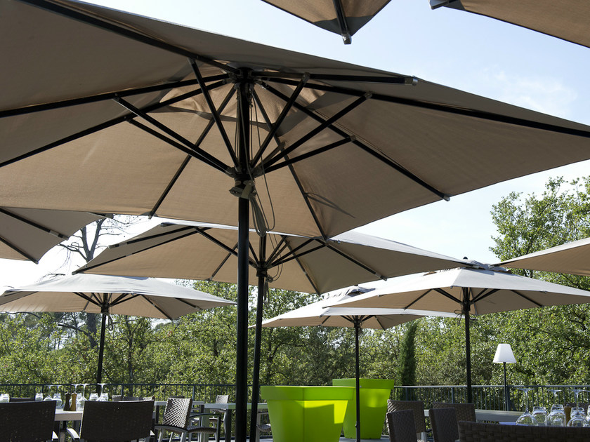Rectangular fabric Garden umbrella PARASOL by Les jardins