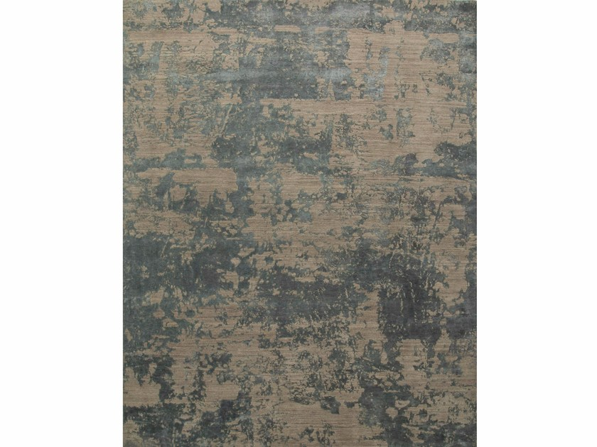 Patterned Rug Paratem 2 Esk 431 Silver Gray Stone Blue By Jaipur Rugs