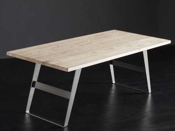 Oak dining table PARIGI + IRON by AltaCorte